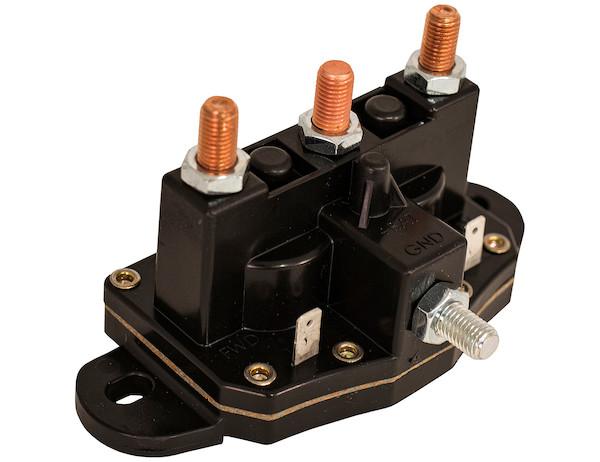 buyers 1306600 12v grounded motor reversing solenoid. Black Bedroom Furniture Sets. Home Design Ideas