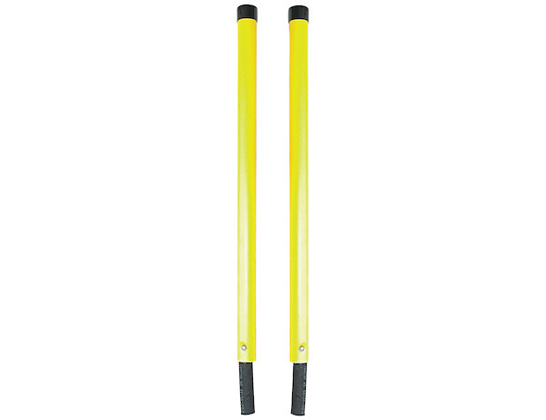 "1308150-S.A.M. Fluorescent Yellow Over sized Bumper Sight Rods (1-5/16 x 24"")"