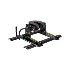 E16 5Th Wheel Hitch with Roller & Rails - 16K Lbs. Capacity - 16616