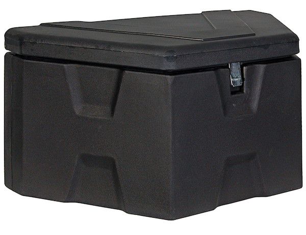 Buyers 1701680 - Black Poly Trailer Tongue Truck Box (18 In x 19 In x 36 In)