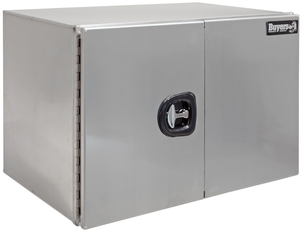 Buyers 1705405 - XD Smooth Aluminum Underbody Truck Box with Barn Door Series