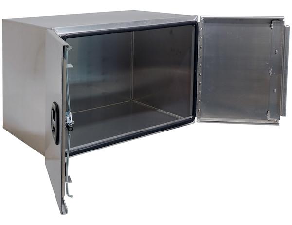 Buyers 1705425 heavy duty aluminum barn door toolbox 18 for 48 inch barn door