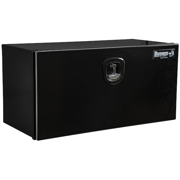 Buyers 1706965 - Black XD Smooth Aluminum Underbody Truck Box (18 In x 18 In x 36 In)