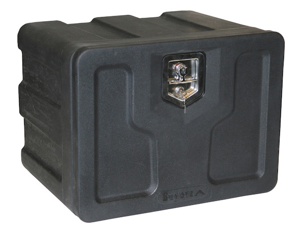 Buyers 1717100 - Black Poly Underbody Truck Box (18 In x 18 In x 24 In)