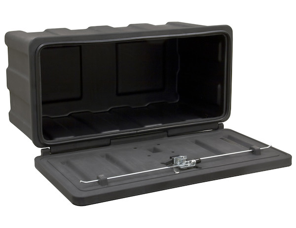 Buyers 1717105 - Black Poly Underbody Truck Box (18 In x 18 In x 36 In)