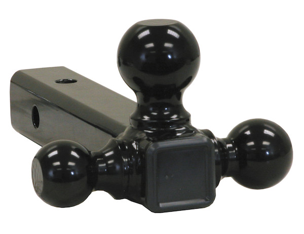 Buyers 1802200 - Tri-Ball Hitch with Black Towing Balls