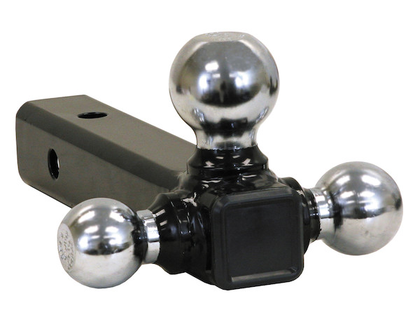 Buyers 1802205 - Tri-Ball Hitch with Chrome Towing Balls