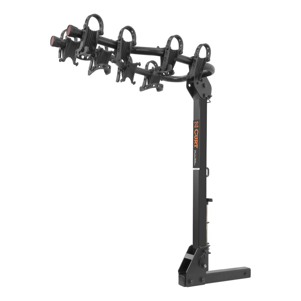 18064 - Premium Hitch-Mounted Bike Rack (4 Bikes 2 Inch Shank)