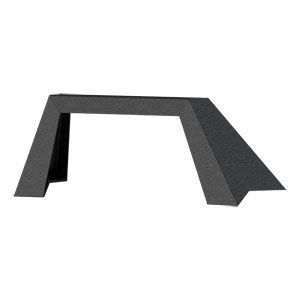 ARIES 2081101 - TrailChaser Jeep Front Bumper Angular Brush Guard