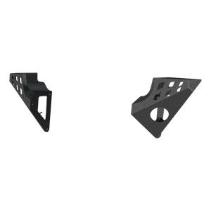 ARIES 2081201 - TrailChaser Jeep Front Bumper Side Extensions