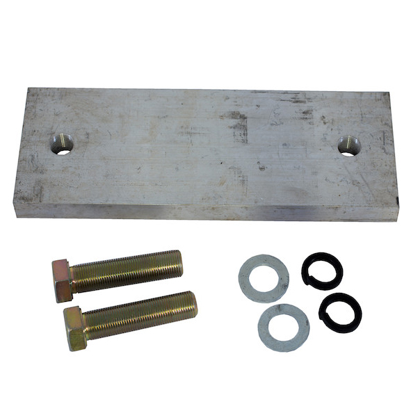 Buyers 3009253 - Aluminum Vibrator Mounting Plate for Aluminum Dump Bodies