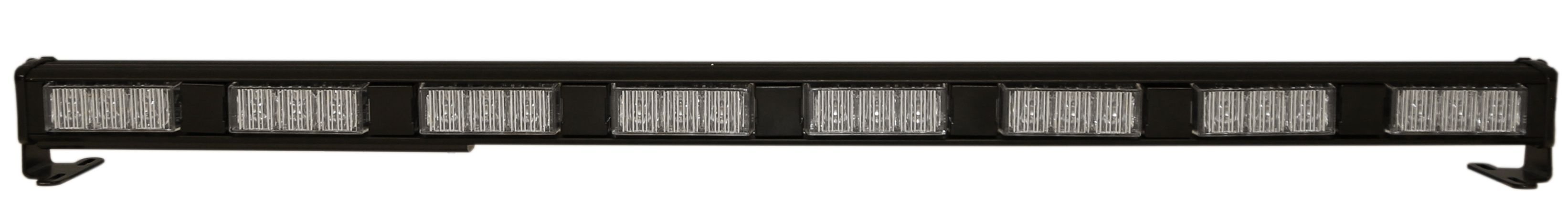 ECCO Lighting - Signal Bar Kit: LED Safety Director | 32 flash patterns | in-cab switch panel | 15' cable | 12-24VDC | amber