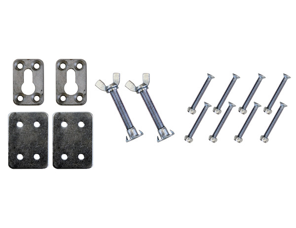3801000 - Mounting Hardware for Chrome Plated Steel Motorcycle Chock