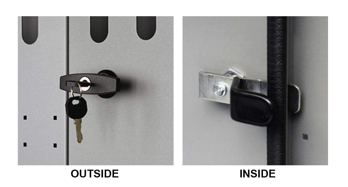 Kargo Master 40620 - Center Panel Partition Lock & Latch Kit