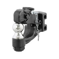 Curt 45919 - Replacement Channel Mount Ball & Pintle Combination (2 Inch Ball 10000 lbs.)