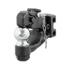 Curt 45920 - Replacement Channel Mount Ball & Pintle Combination (2-5/16 Inch Ball 13000 lbs.)