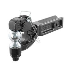 Curt 48012 - Receiver-Mount Ball & Pintle Combo (2-1/2 Inch Shank 2-5/16 Inch Ball 20000 lbs.)