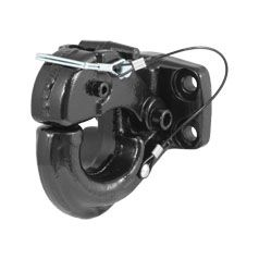 Curt 48215 - Pintle Hook (30000 lbs. 2-1/2 Inch or 3 Inch Lunette Eyes)