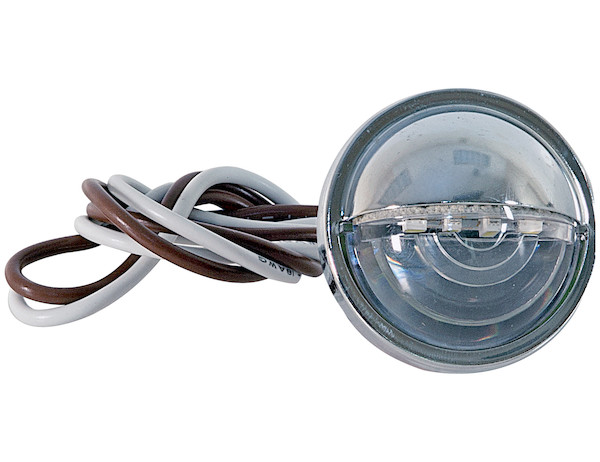 Buyers 5621534 - 1.5 Inch Round License|Utility Light with 4 LEDs