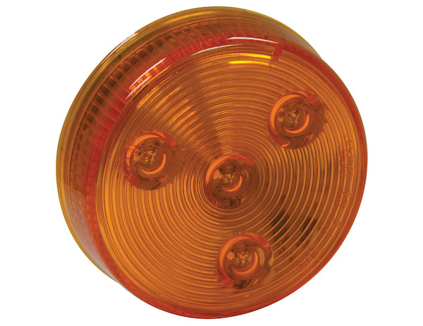 Buyers 5622525 - 2.5 Inch Round Marker|Clearance Light with 4 LEDs