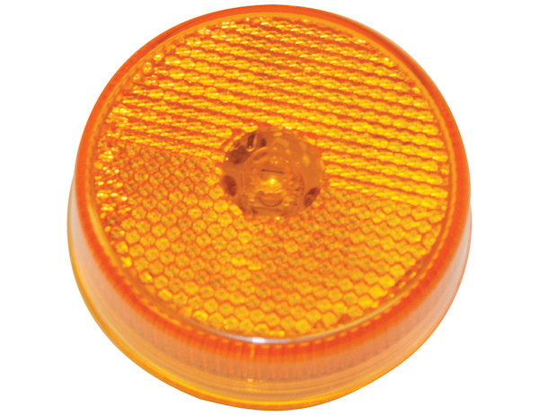 Buyers 5622526 - 2.5 Inch Round Marker Clearance Light with Reflex and 4 LEDs