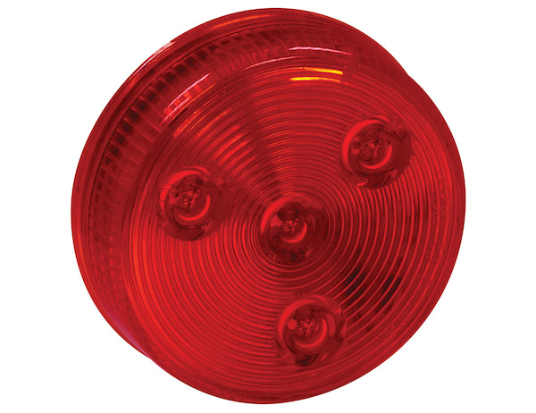 Buyers 5622550 - 2.5 Inch Round Marker|Clearance Light with 4 LEDs