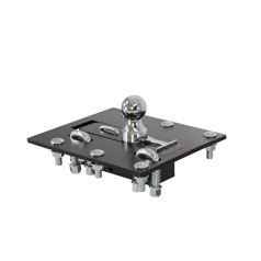 FOLDING BALL GOOSENECK HITCH ASSEMBLY