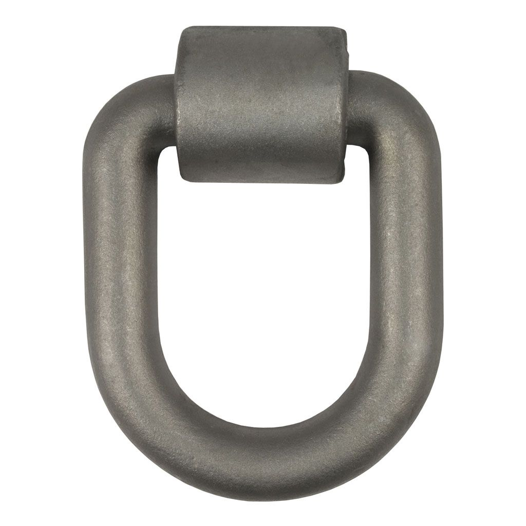 "83780 - 3""x 4 Inch Weld-On Tie-Down D-Ring (15587 lbs. Raw Steel)"