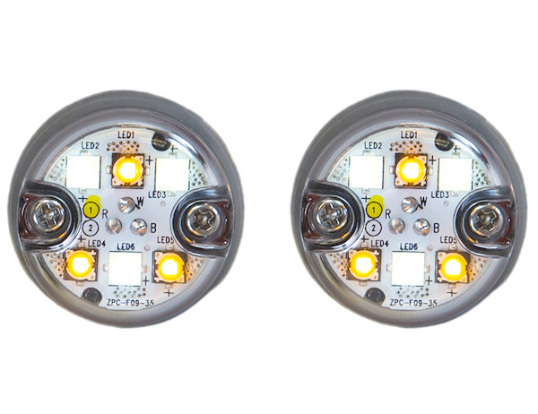 Buyers 8891327 - Push-On LED Hideaway Strobe Kit with In-Line Flashers