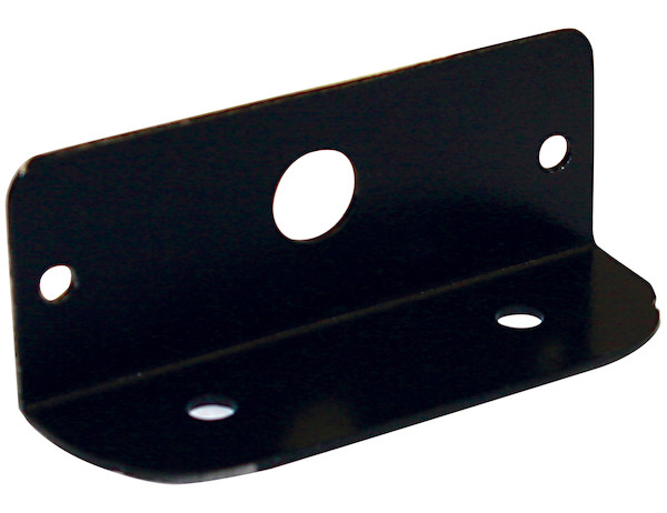 "Black Mounting Bracket For 3.5"" Surface Mount Ultra-Thin Strobe Lights"