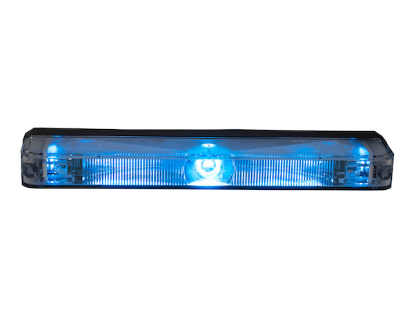 "5"" Blue Low Profile Strobe (For Narrow Grill Spacing)"