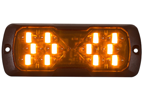 "4.5"" LED Strobe Light Amber"