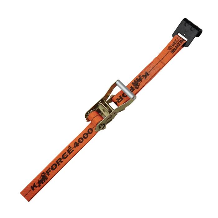 1 x 16 Utility Cargo Ratchet Strap with Wire Hook Kinedyne 711681PK