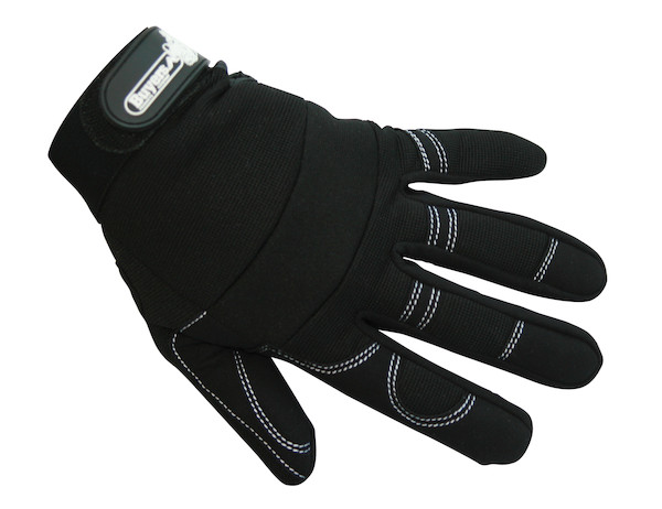 Multi-Use Commercial Work Gloves (L, Black)