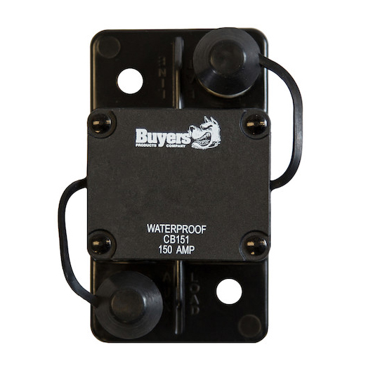 High-amp Large Frame Circuit Breaker With Auto Reset