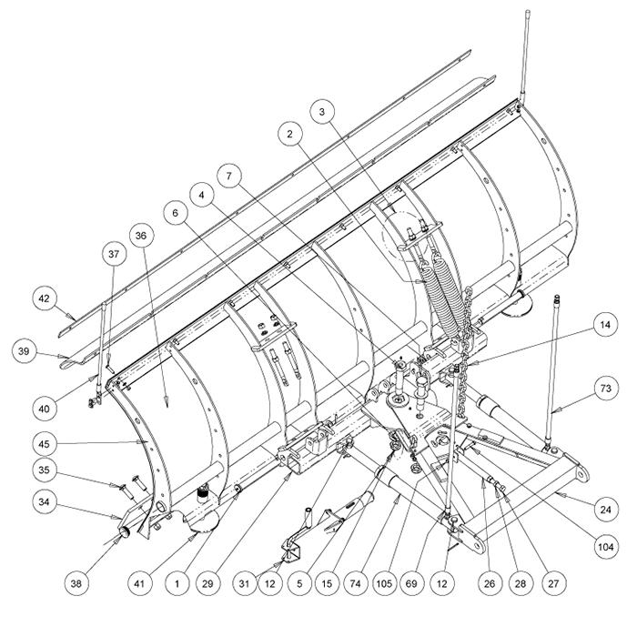 Western Plow Parts Diagram   Repair Manual on