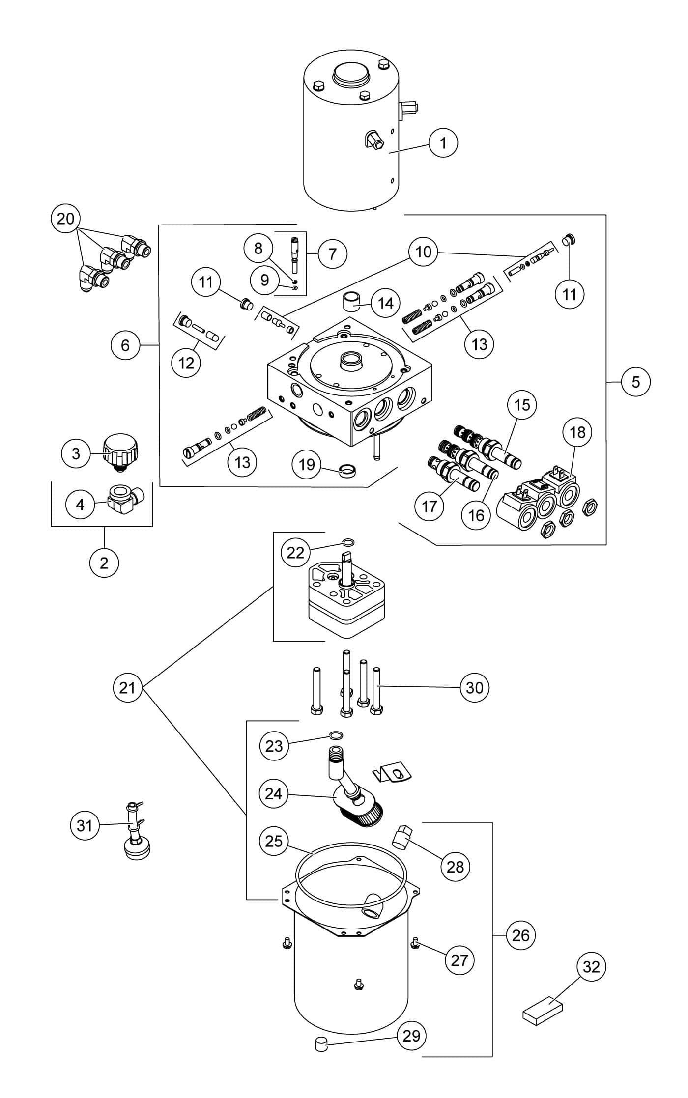 Fisher Hd2-hu - Hd2 Hydraulic Unit