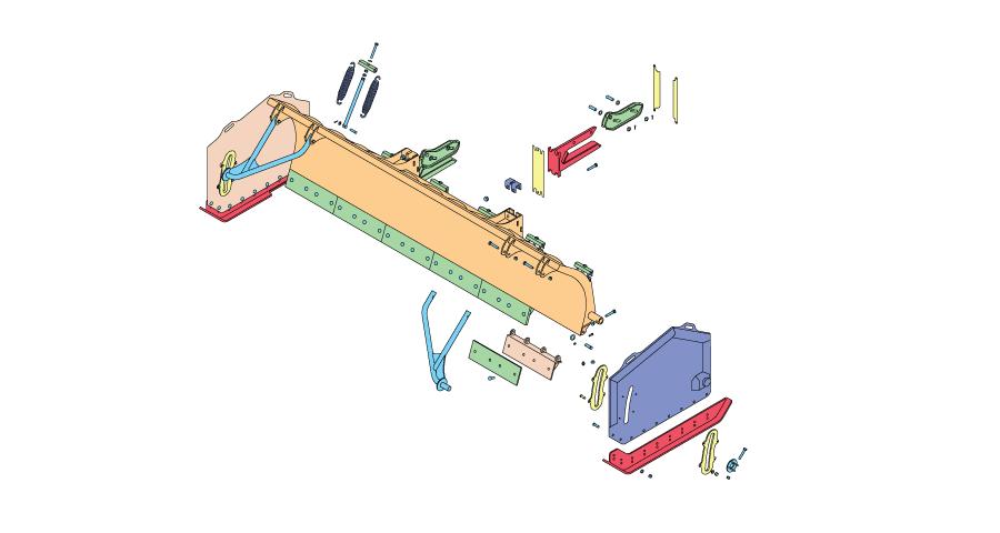 Diamond Snow Plow Parts Diagram