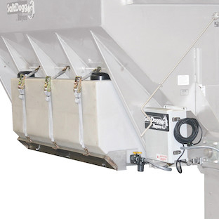 Buyers LS5 - SaltDogg Hydraulic Pre-Wet Kit With Two 105-Gallon Poly V-Box  Mount Reservoirs