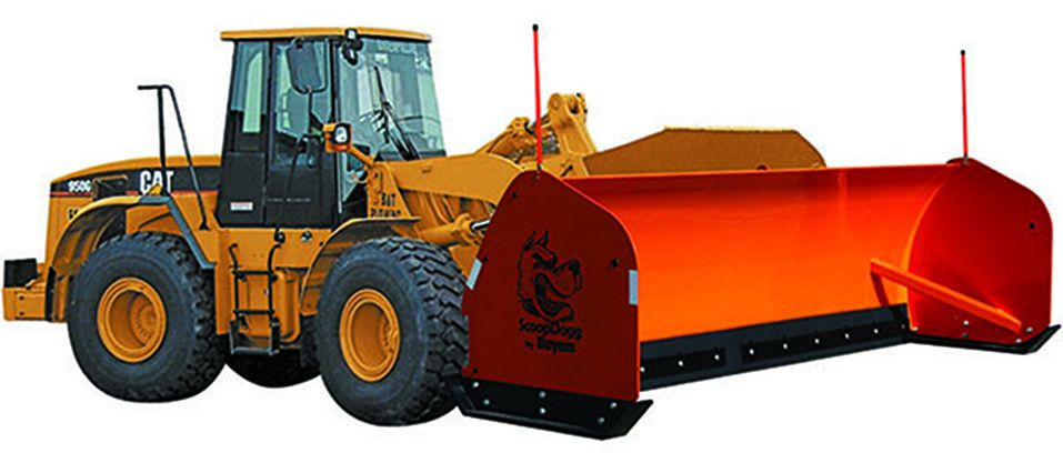 SAMS 2601116 - ScoopDogg 16' Loader Snow Pusher
