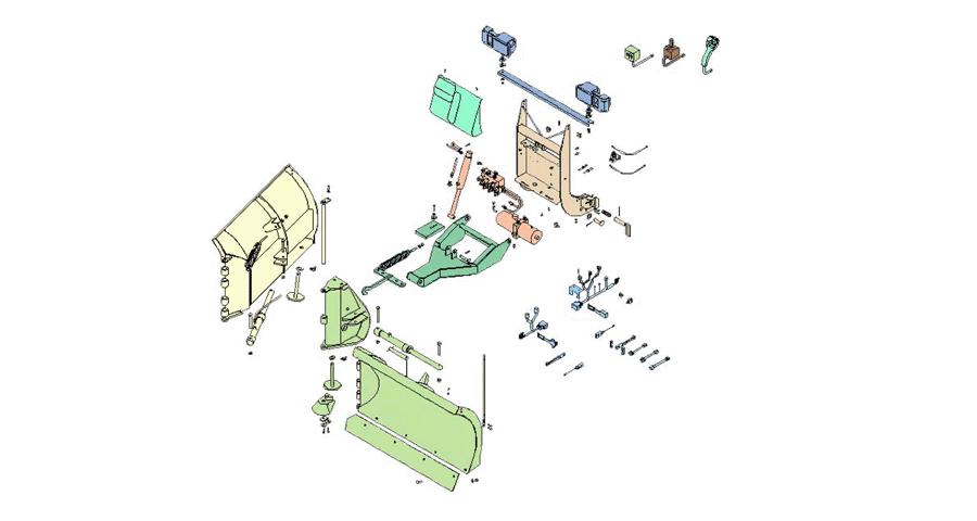 Boss Snowplow Parts Diagrams From Iteparts Com