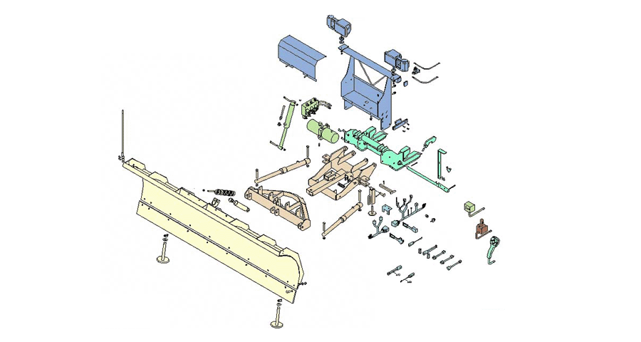 Snowplow Diagrams  BOSS Snowplow    Parts      Diagrams