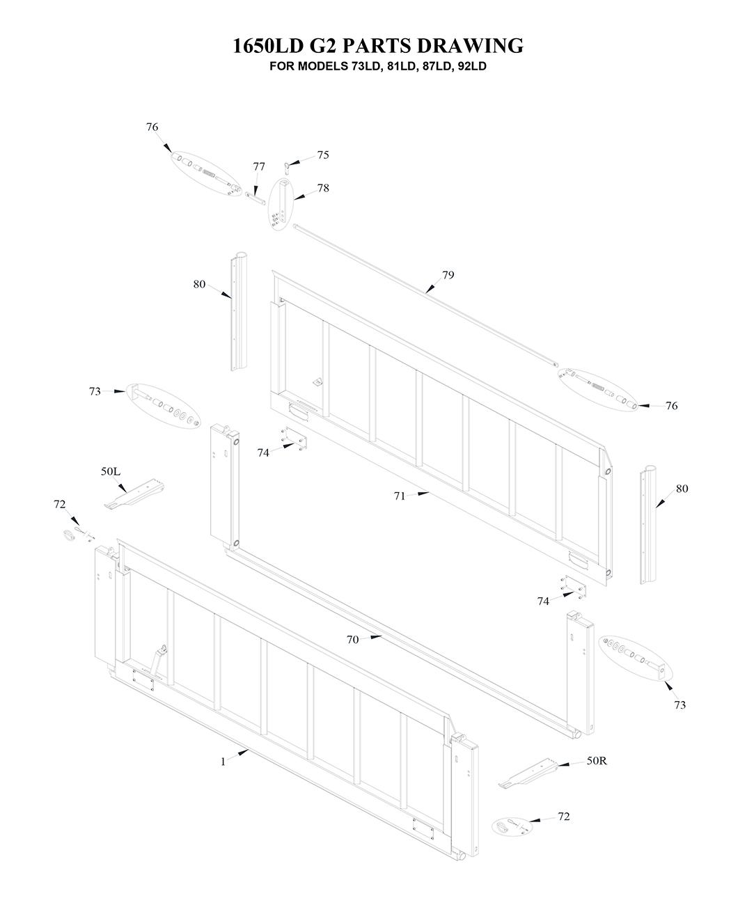 liftgate diagrams tommy gate liftgate parts diagrams. Black Bedroom Furniture Sets. Home Design Ideas