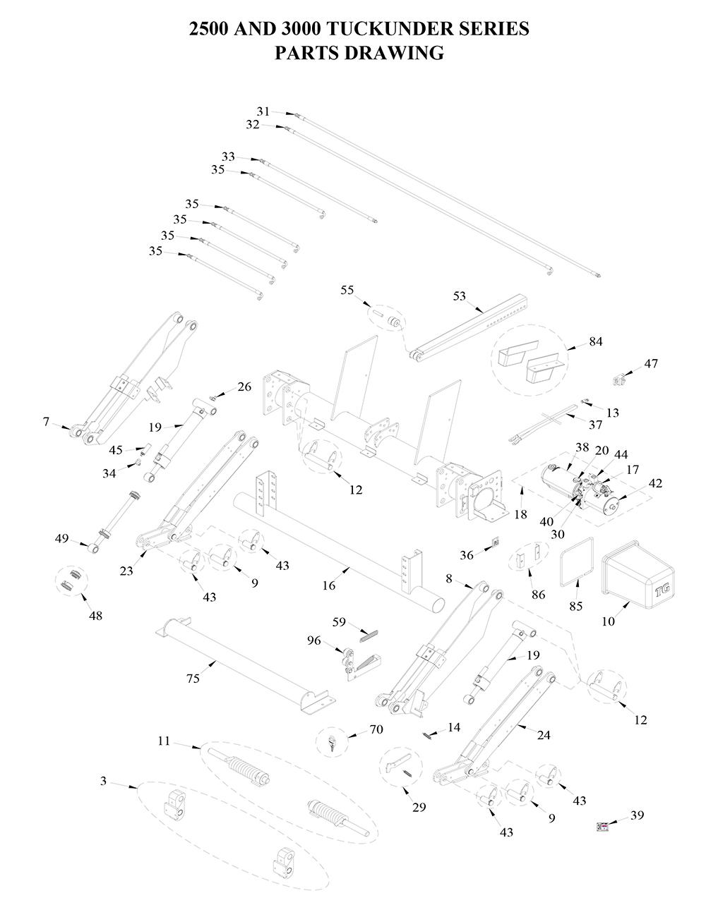 liftgate diagrams - tommy gate liftgate parts & diagrams ... entry gate wiring diagram tommy gate wiring diagram