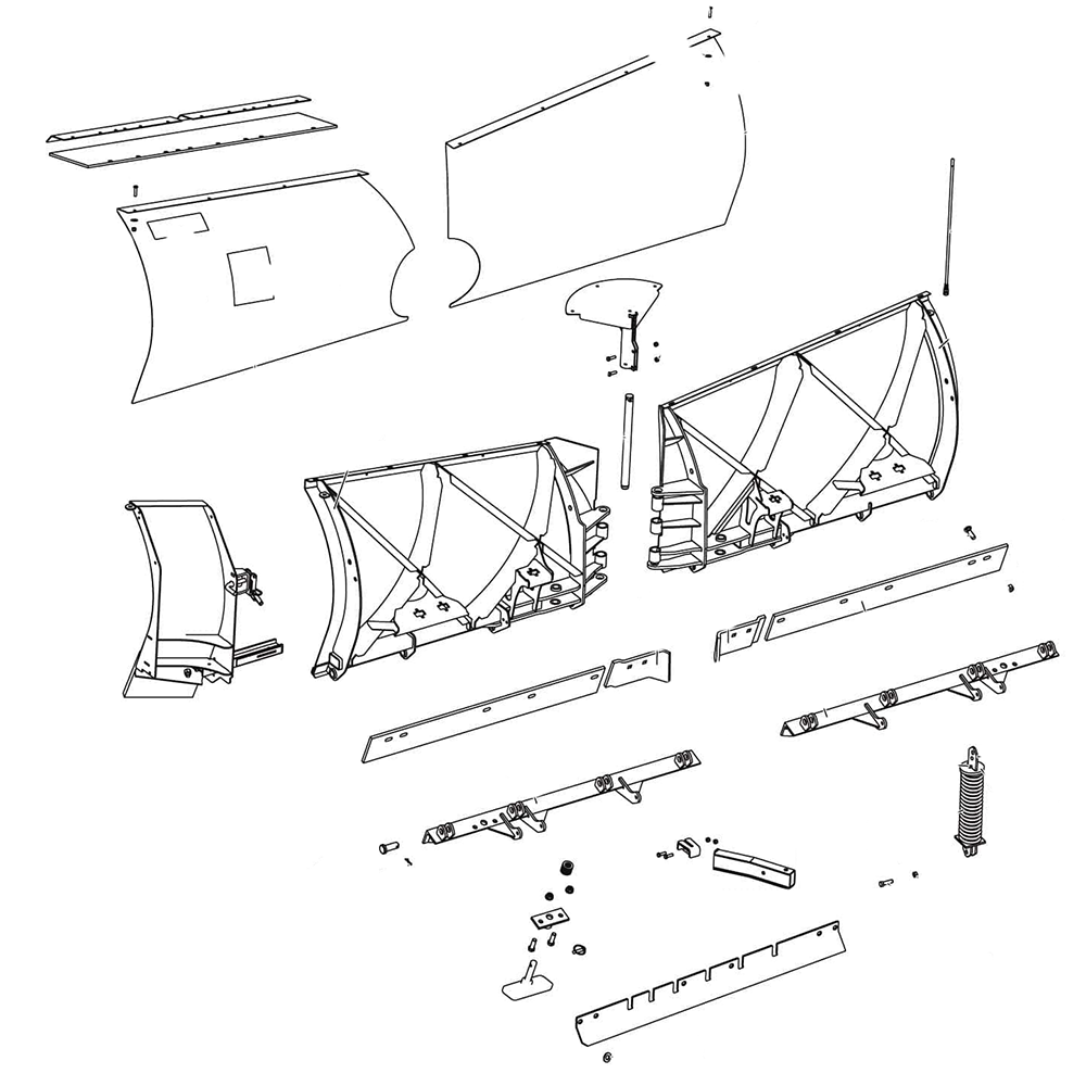 fisher homesteader plow parts diagram