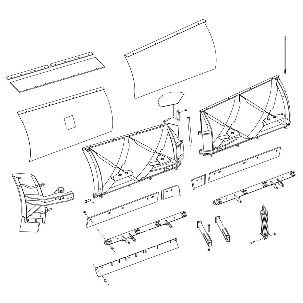 Fisher XtremeV - V-Plow Diagram