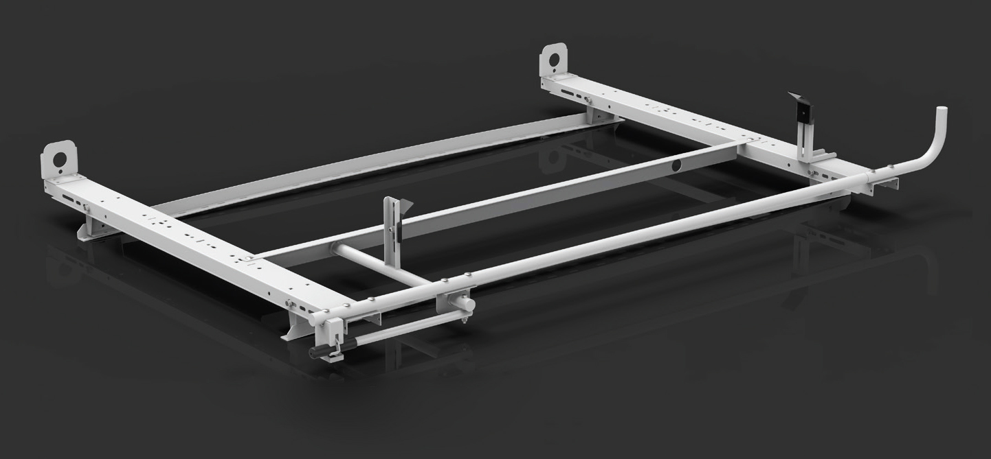 Clamp & Lock Aluminum Ladder Rack
