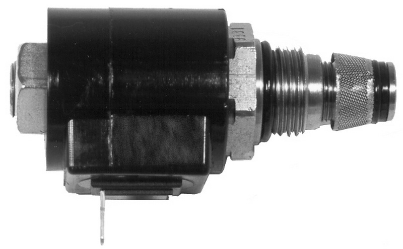 "2-Way Drain Valve (0.5"" Diameter, 3"" Length) And 1-Terminal Solenoid [Anthony, Maxon, Waltco, Progressive]"