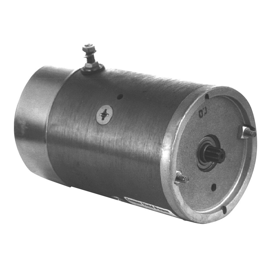 12V CW Regular Duty Motor With 9-Spline Shaft [Maxon, Anthony, Waltco]