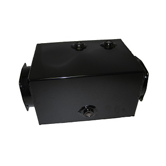 2.5 Gal Metal Open-Ended Power Unit Reservoir (4 Holes)